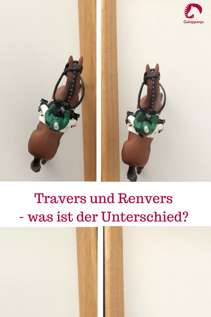 Der Unterschied zwischen Travers und Renvers